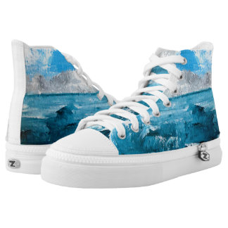 Seascape Unisex Summer High Tops