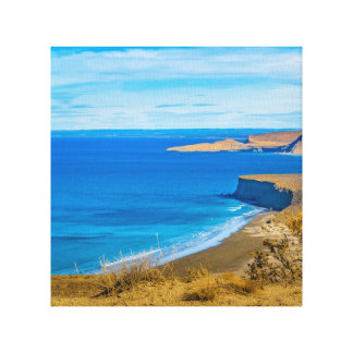 Seascape View from Punta del Marquez Viewpoint Canvas Print