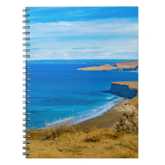 Seascape View from Punta del Marquez Viewpoint Notebook