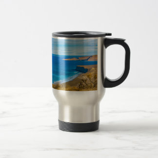 Seascape View from Punta del Marquez Viewpoint Travel Mug
