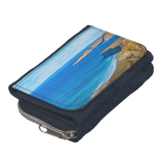 Seascape View from Punta del Marquez Viewpoint Wallets