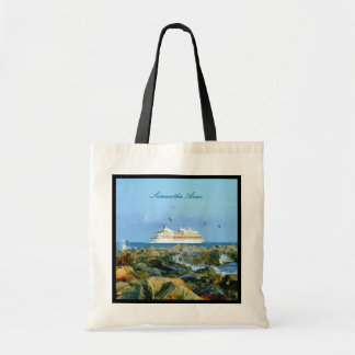 Seascape with Cruise Ship Personalized