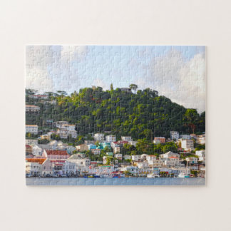 Seascapes of the Grenadines. Jigsaw Puzzle