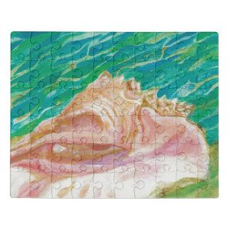 Seashell Acrylic Puzzles