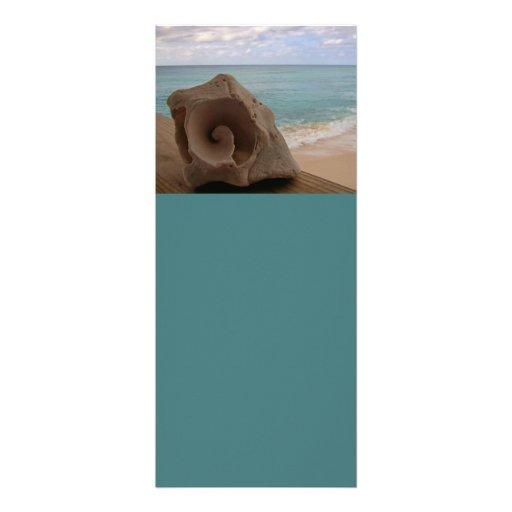 Seashell Beach Paradise Custom Invites