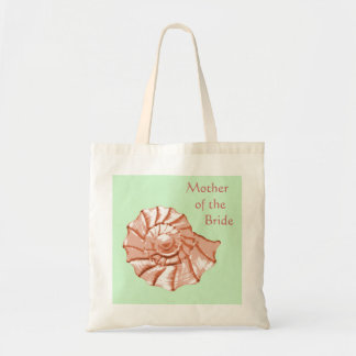 Seashell Beach Wedding Favor Tote Bag