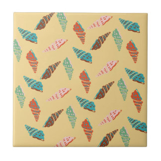 Seashell Ceramic Tile