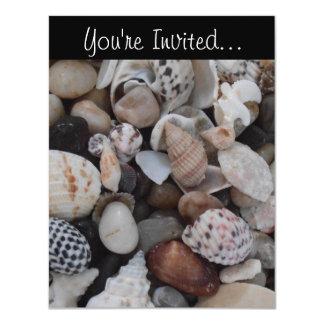 Seashell Invitation