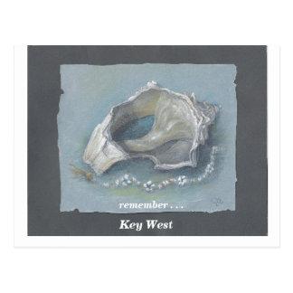SEASHELL_Key West Postcard