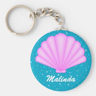 Seashell Keychain by SRF