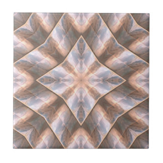 Seashell Layers Ceramic Tile