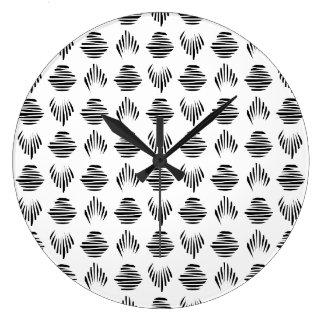 Seashell Pattern wall clock