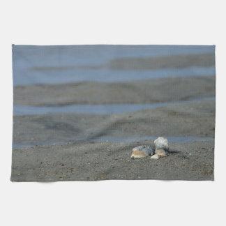 Seashell Pile Hand Towel