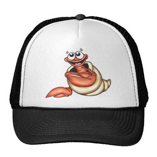 Seashell Sea Creature Mesh Hat