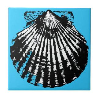 Seashell Sketch Tile