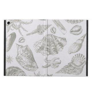 Seashell Soft Antique Art Print Beach House iPad Air Case