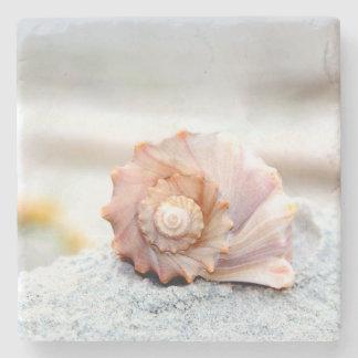 Seashell Stone Coaster