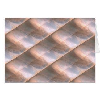 Seashell Stripes Greeting Cards