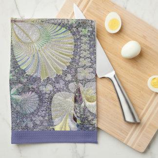 Seashell Symmetry Kitchen Towel