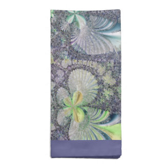 Seashell Symmetry Table Napkins--Set of 4 Napkins