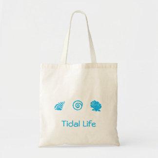 Seashell Trio Tidal Life Tote Bag