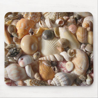 Seashell Variety Tropical Mouse Mat