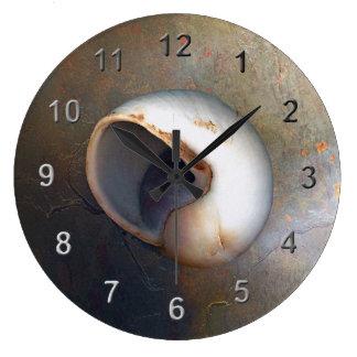 Seashell wall clocks for Seashell wall clock