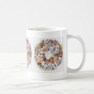 Seashell Wreath Mug