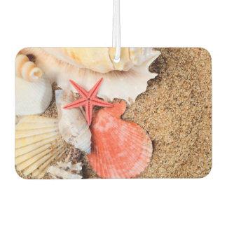 Seashells and Starfish Car Air Freshener