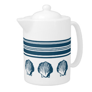 Seashells and stripes