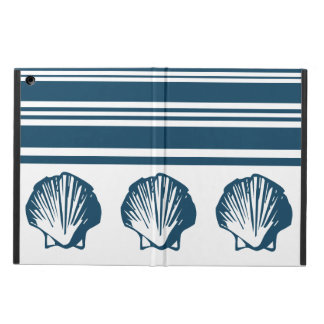 Seashells and stripes cover for iPad air