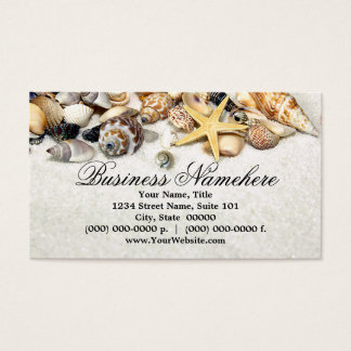 Seashells Business Cards
