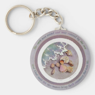 SEASHELLS by SHARON SHARPE Key Ring