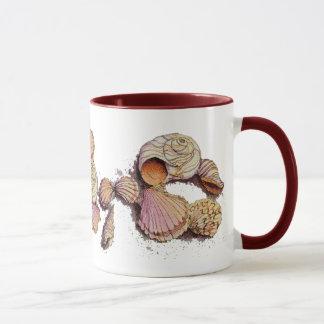 SEASHELLS by SHARON SHARPE Mug