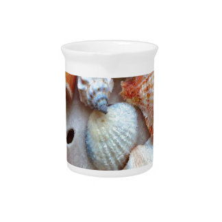 Seashells by the Seashore Pitcher