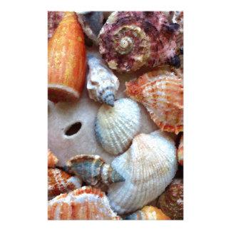 Seashells by the Seashore Stationery