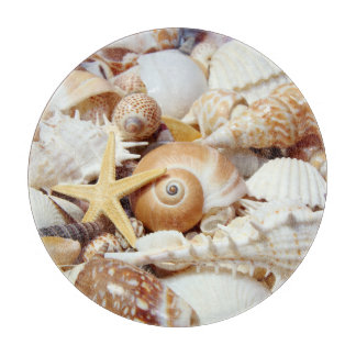 Seashells Cutting Board
