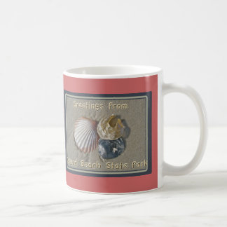 Seashells Greetings From IBSP Seaside Park NJ Coffee Mug