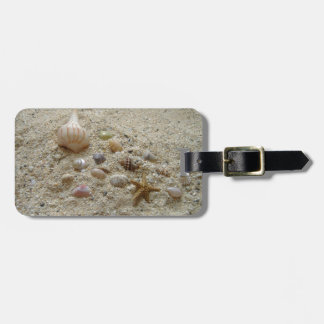 Seashells In The Sand Luggage Tag
