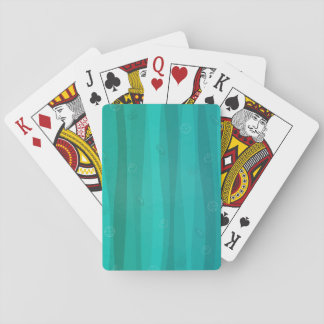 Seashells in the Waves Playing Cards
