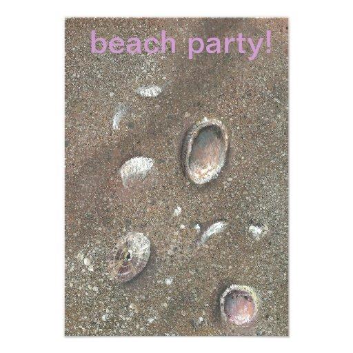 seashells invite