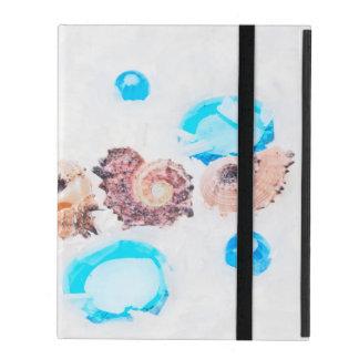 seashells iPad cover