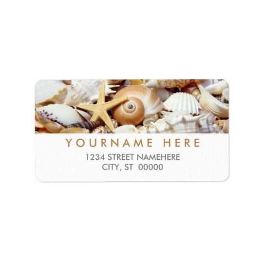 Seashells Labels