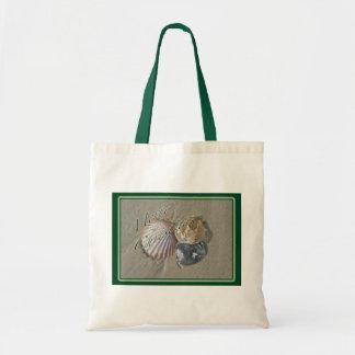Seashells Merry Christmas Series Canvas Bags
