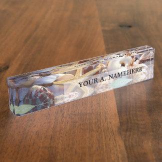 Seashells Nameplate