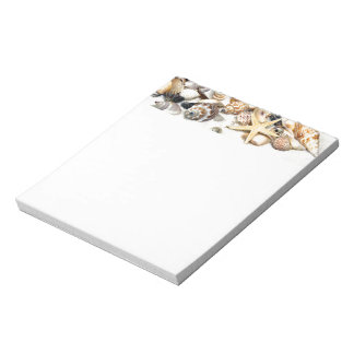 Seashells Notepad