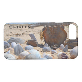 Seashells on the Beach by Shirley Taylor iPhone 8/7 Case