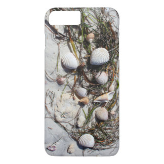 Seashells on the beach iphone case