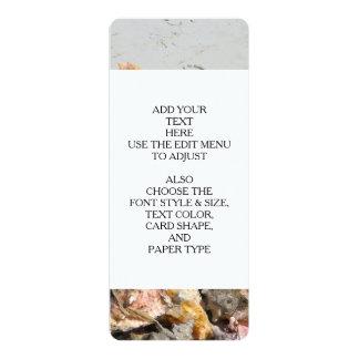 Seashells on the Beach | Turks and Caicos Photo Custom Announcement Card