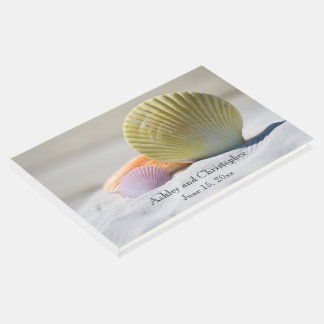 Seashells on the Beach Wedding Guestbook